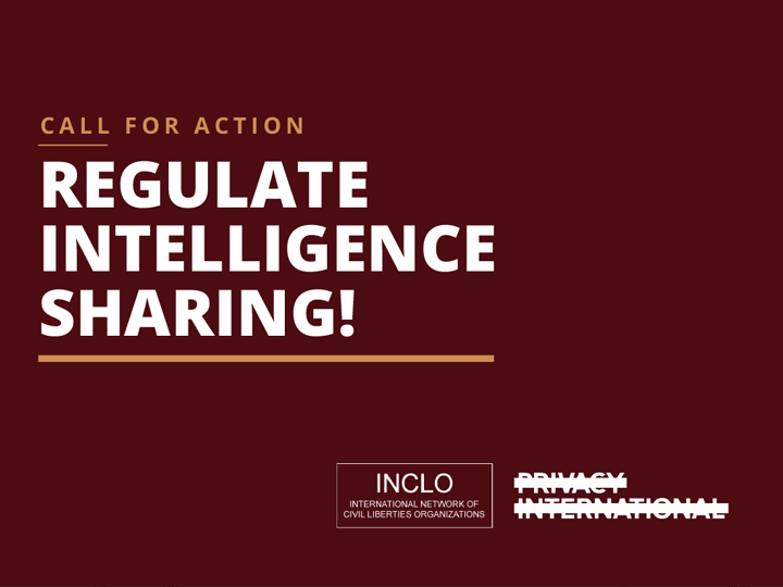 Regulate Intelligence Sharing!