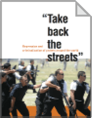Take back the streets